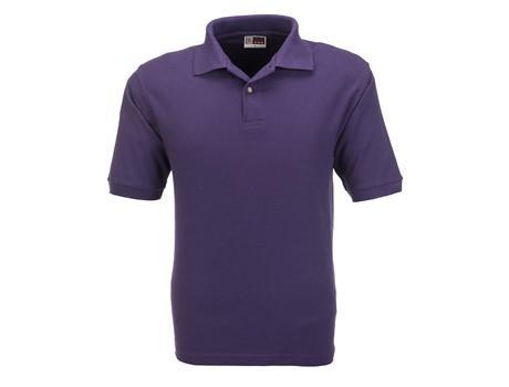 Mens Boston Golf Shirt - Purple Only