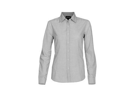 Ladies Long Sleeve Earl Shirt - Grey Only