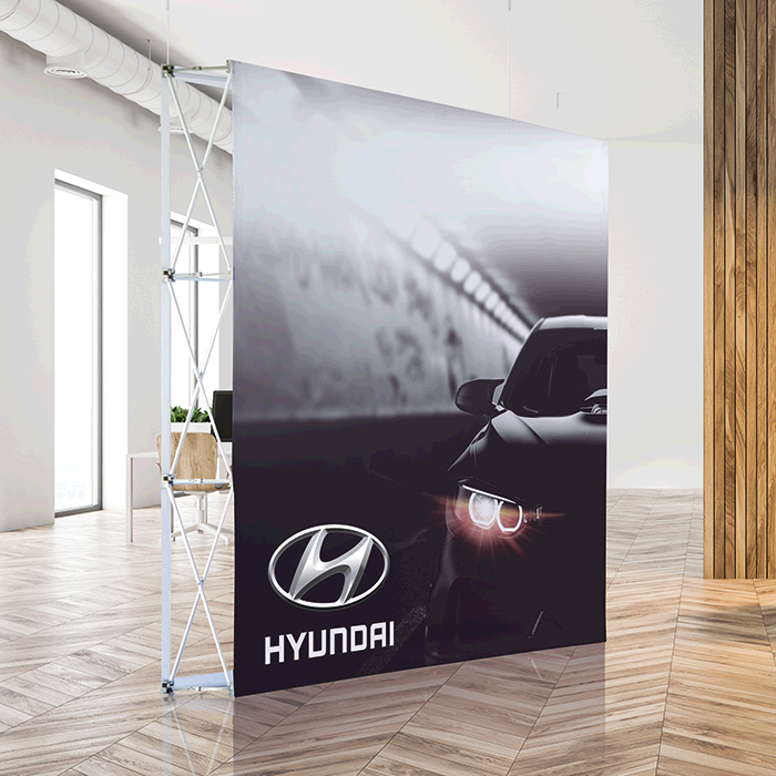 Banner Walls Standard - Single Sided
