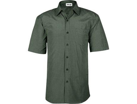 Mens Short Sleeve Cedar Shirt - Green Only