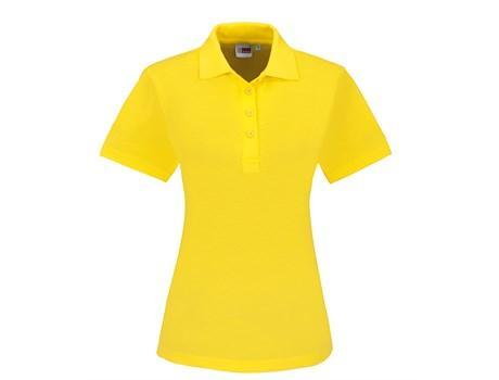 Ladies Elemental Golf Shirt - Yellow Only