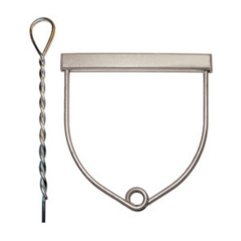 Hammerthrow Wire With Handle