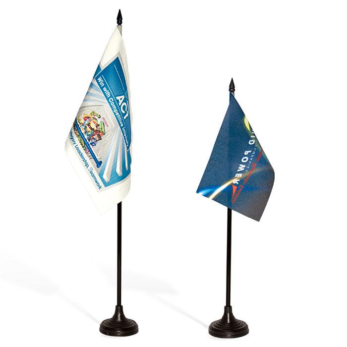 Corporate Desk Flag - Digital
