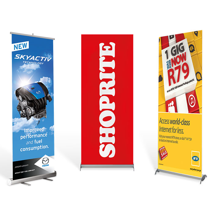 Pull Up Banner Deluxe - Bannerweave