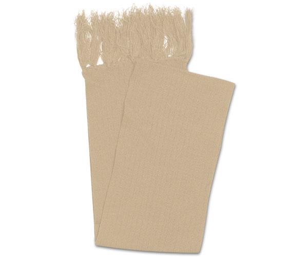 Acrylic Scarf With Single Tassles