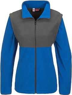 Ladies Benneton Zip-off Micro Fleece Jacket