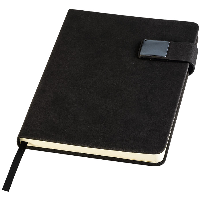 Bf0104 - A5 Pu Notebook With Magnetic Closure