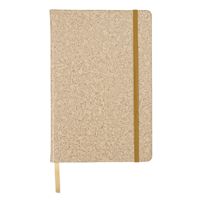 Bf7256 - A6 Pu Notebook With Cork Print
