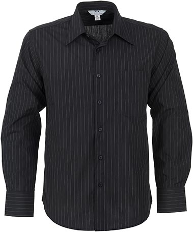 Mens Long Sleeve Manhattan Striped Shirt