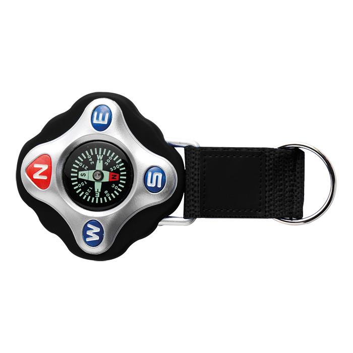 Bk3735 - Plastic Compass On Strap