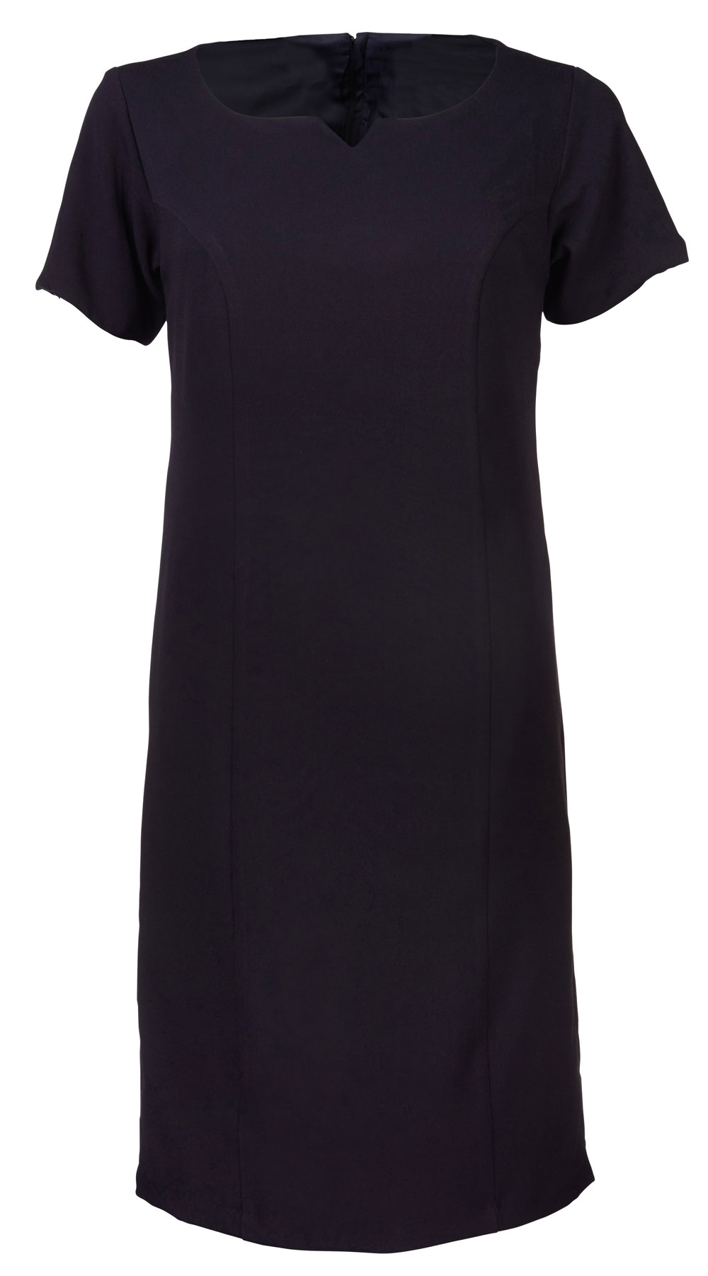 Ladies Carol S/sleeve Dress - Navy