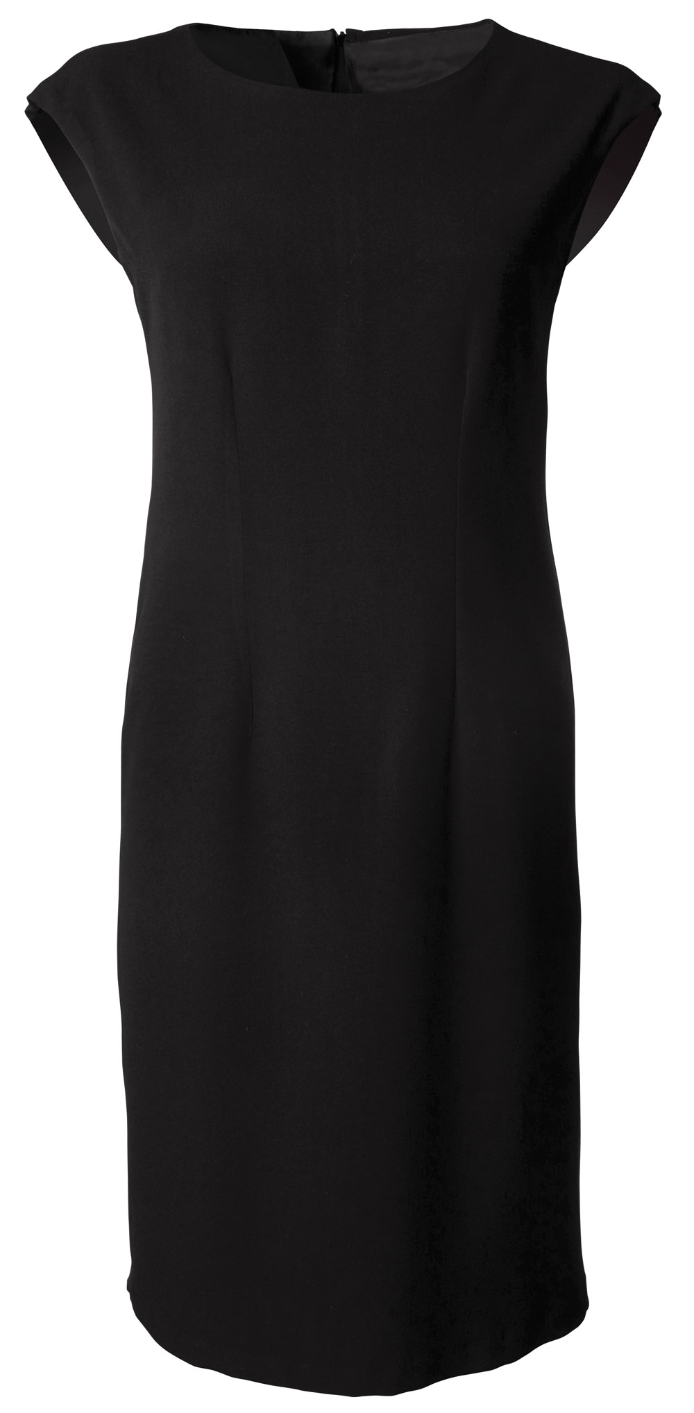 Ladies Kendal S/less Dress - Black
