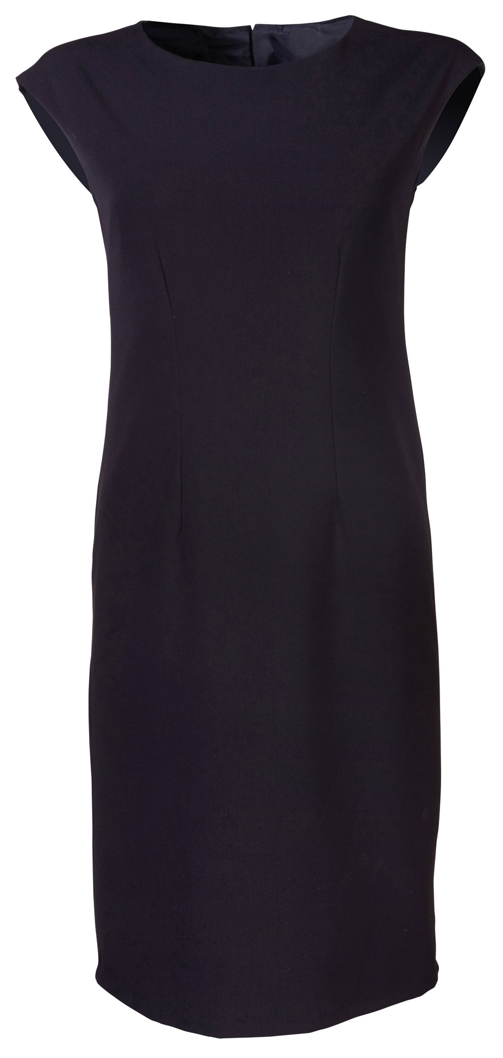 Ladies Kendal  S/less Dress - Navy