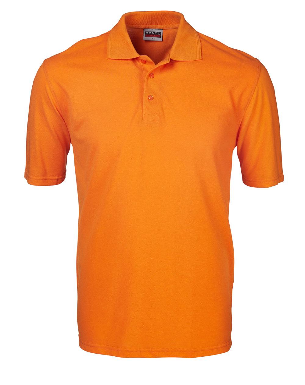 P18 Pique Golfer - Orange