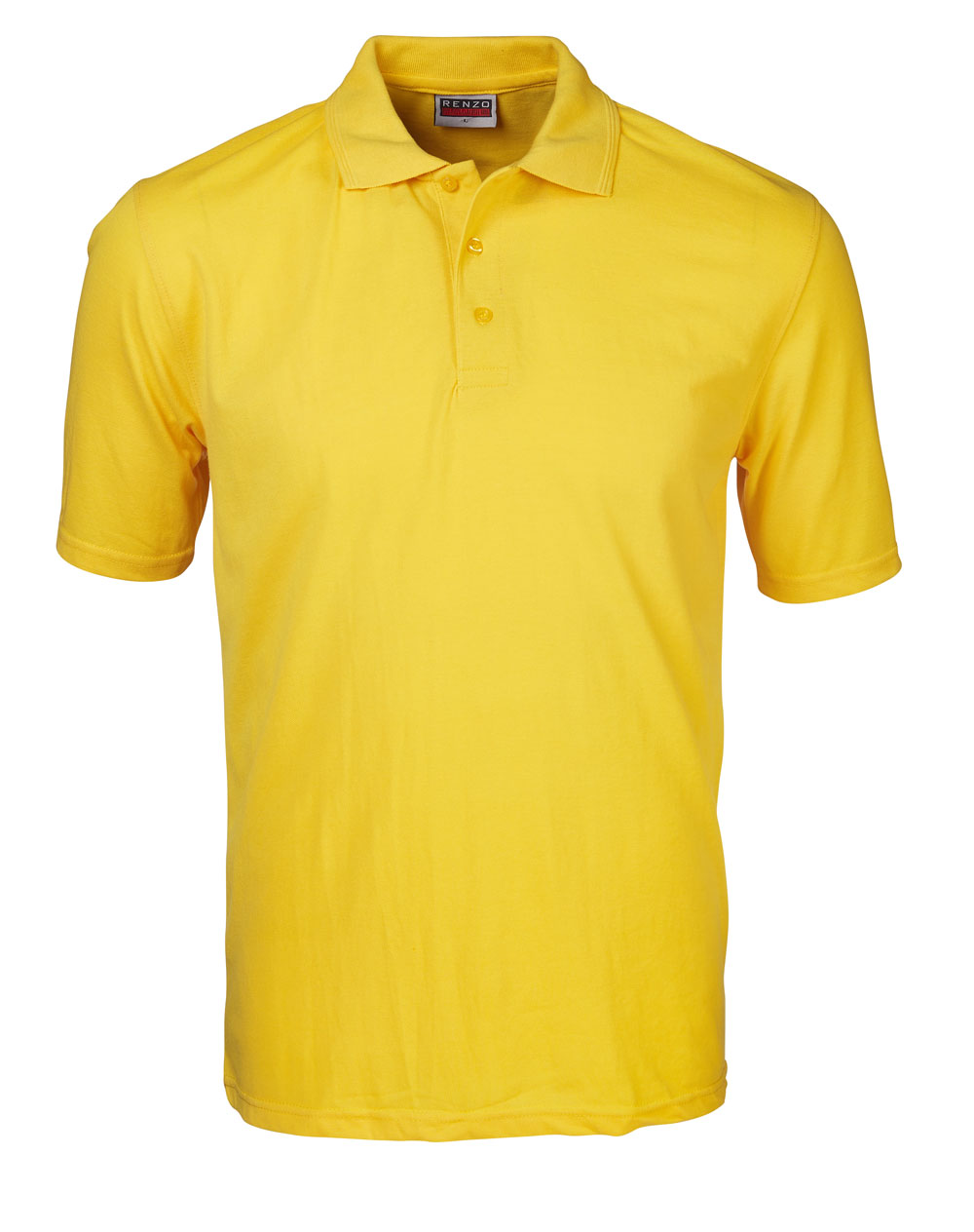 P18 Pique Golfer - Yellow
