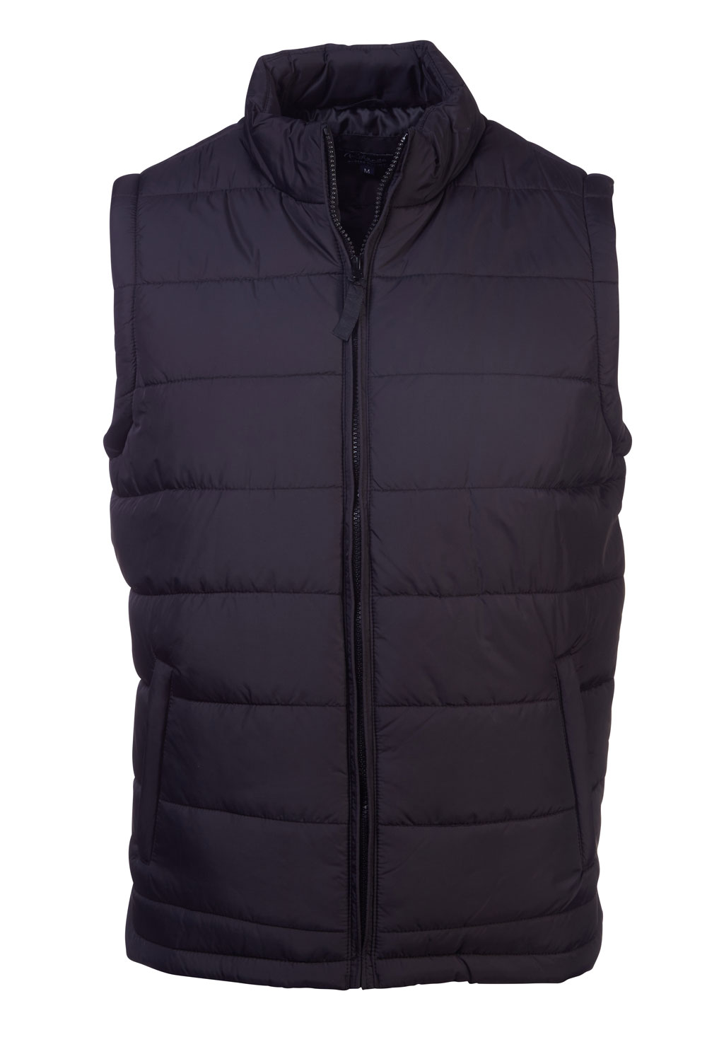 Quilted S/less Arizona Bodywarmer-  Black
