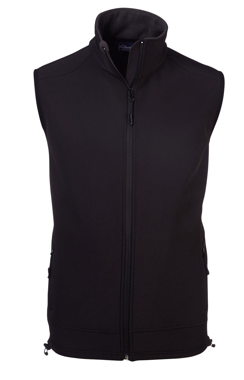 Unisex Urban S/less  Softshell Bodywarmer- Black