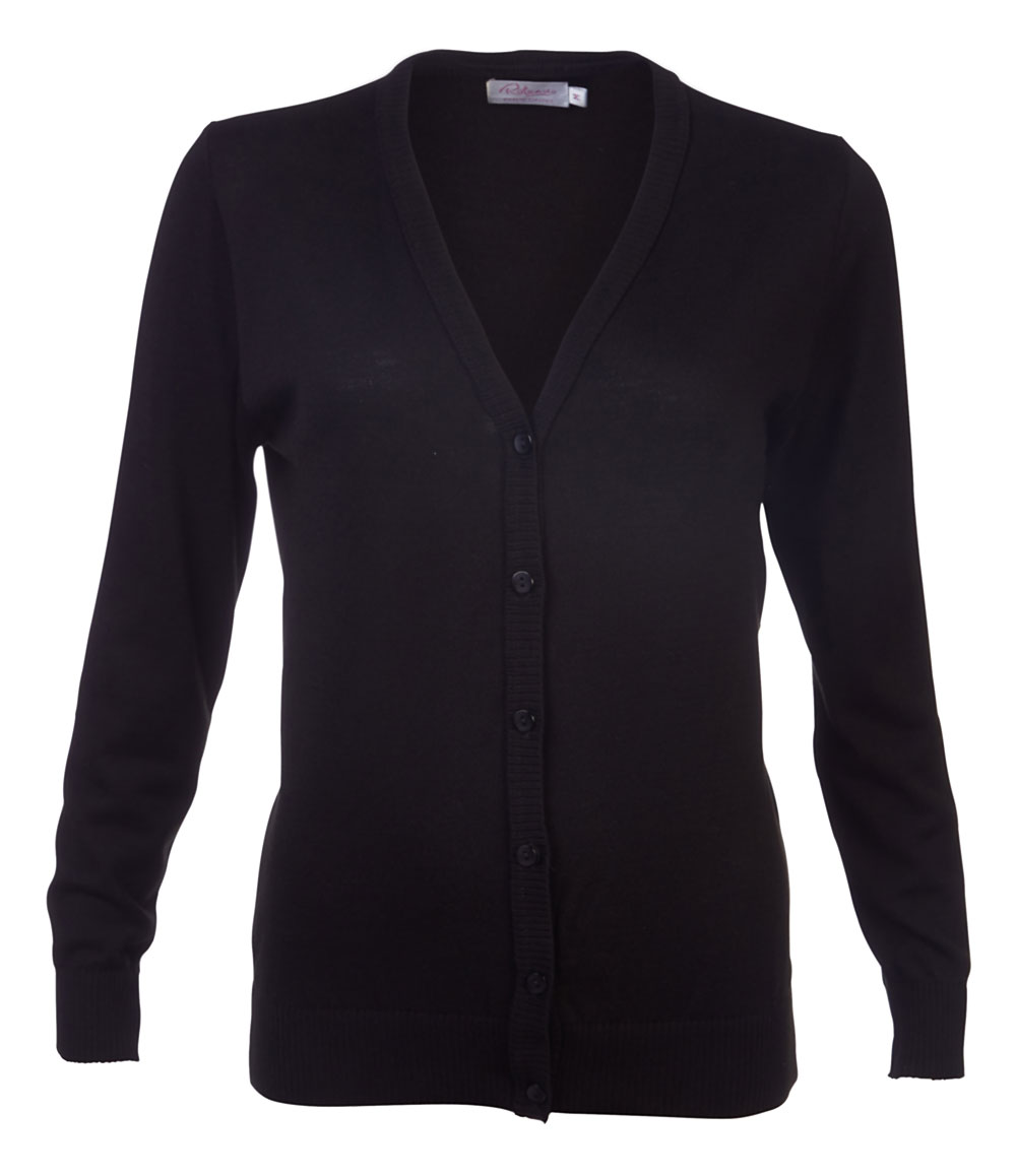 Ladies Kate Cardigan - Black