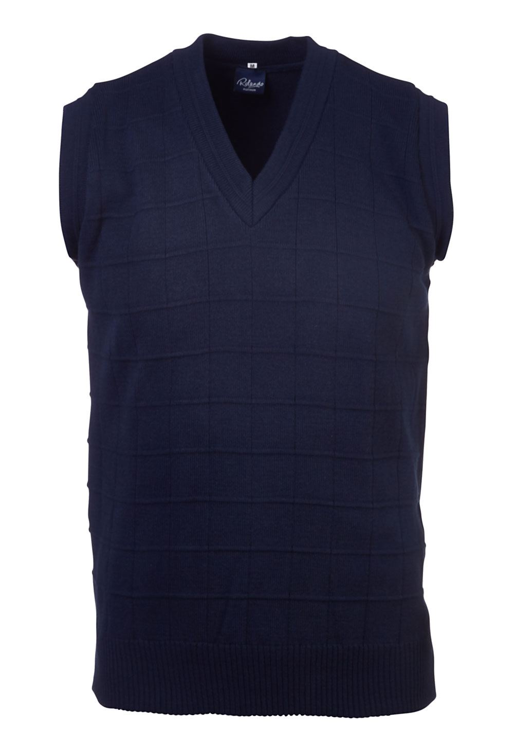 Mens Sleeveless Delux Jersey - Navy