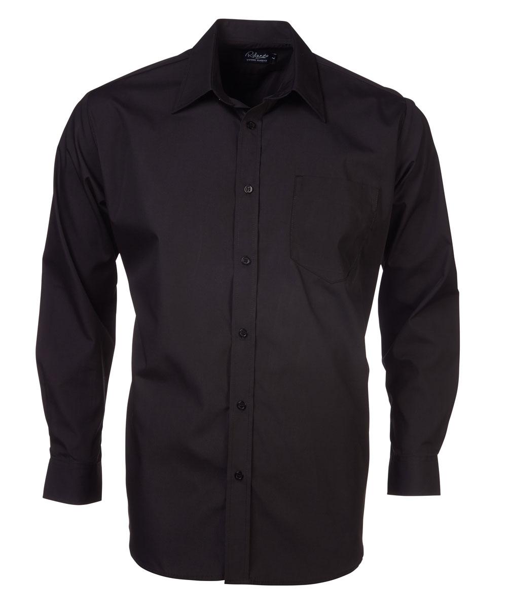 Mens P070 S/s Shirt - Black