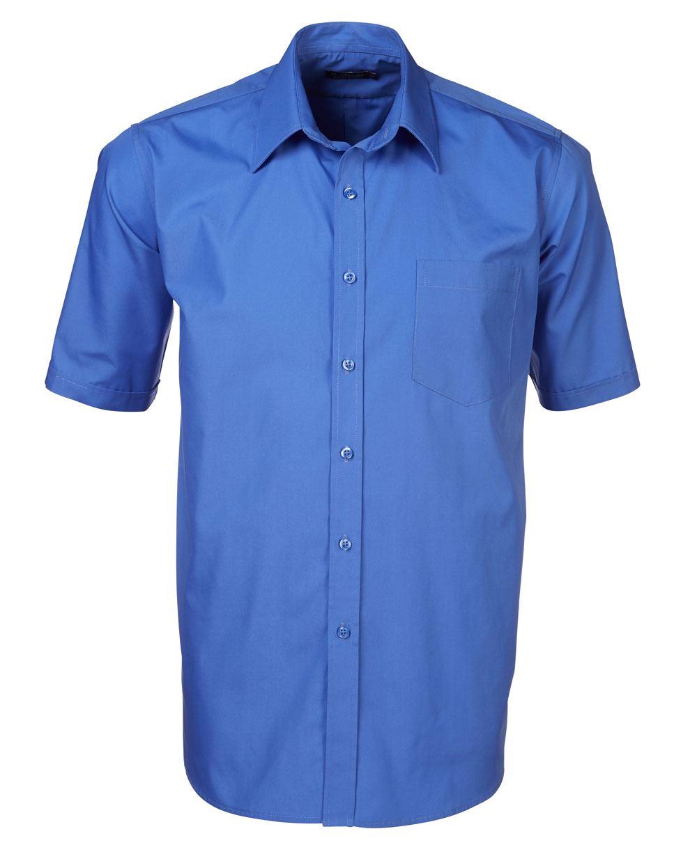 Mens P070 S/s Shirt - Blue