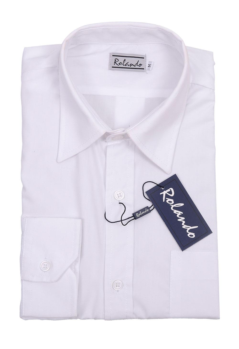 Mens P070 S/s Shirt - White