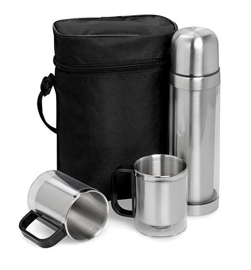 Admiral Double Wall Flask And Mug Set - 500ml