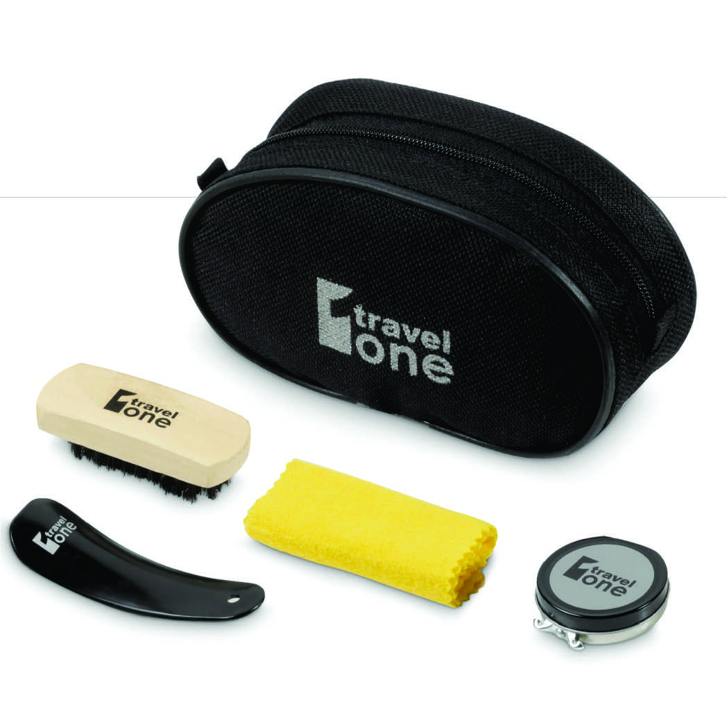 Shoe-shine Travel Kit
