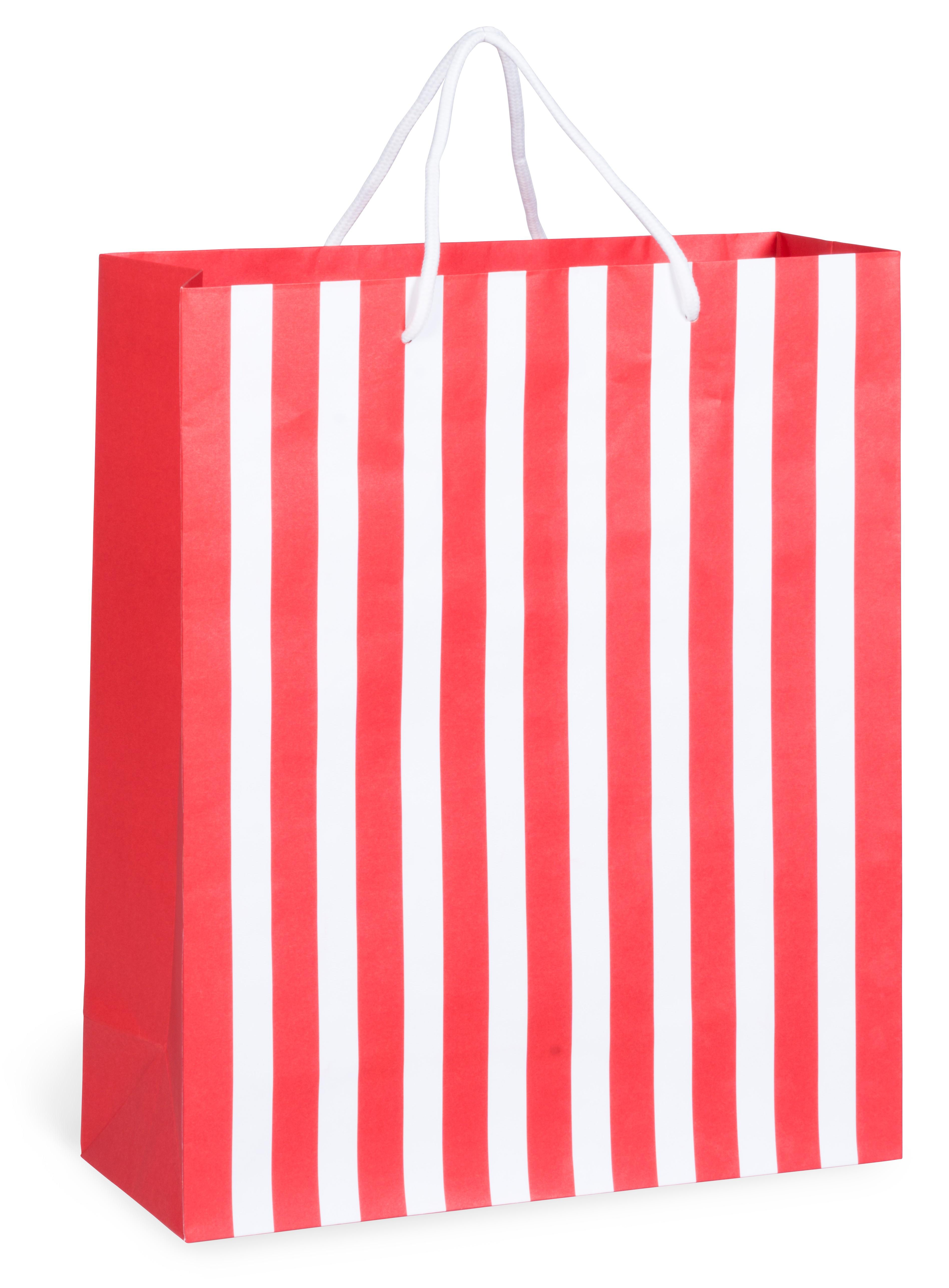 Candy Cane Maxi Gift Bag