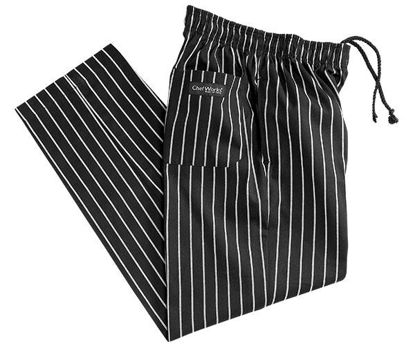 Chalk Stripe Baggy Pants