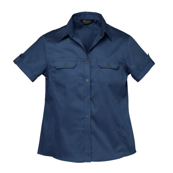 Ladies Plain Bush Shirt (ll-bush)