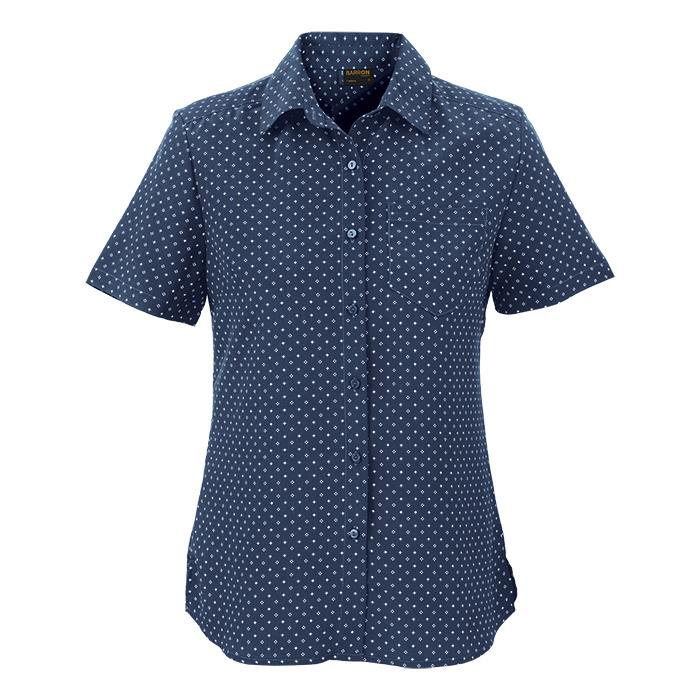 Ladies Donna Blouse Short Sleeve (ll-don)