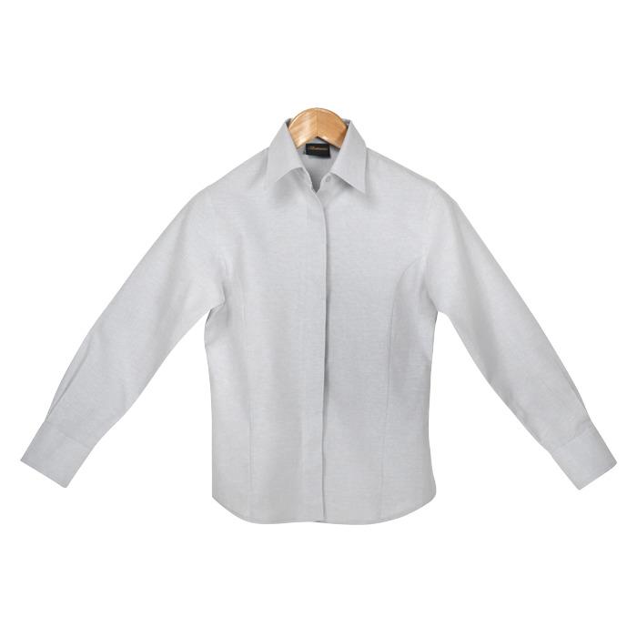 Ladies Oxford Blouse Short Sleeve (ll-ox)