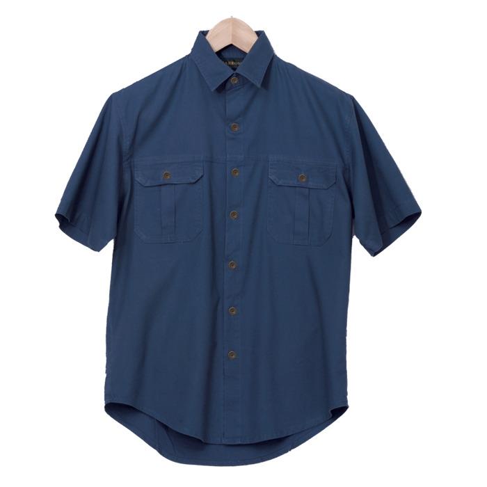Mens Plain Bush Shirt (lo-bush)