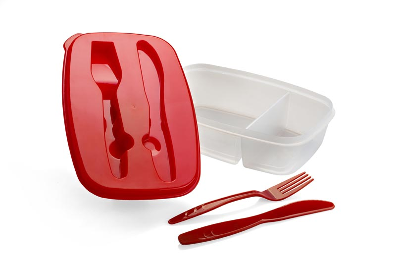 2-section Food Container