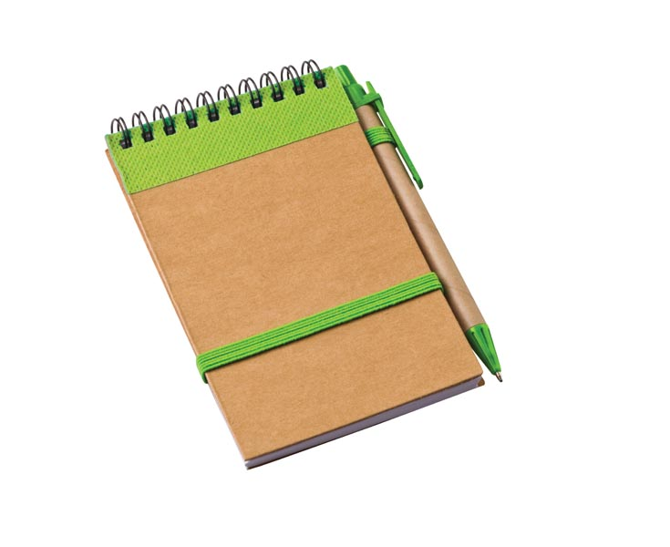 Eco Notebook With Strap